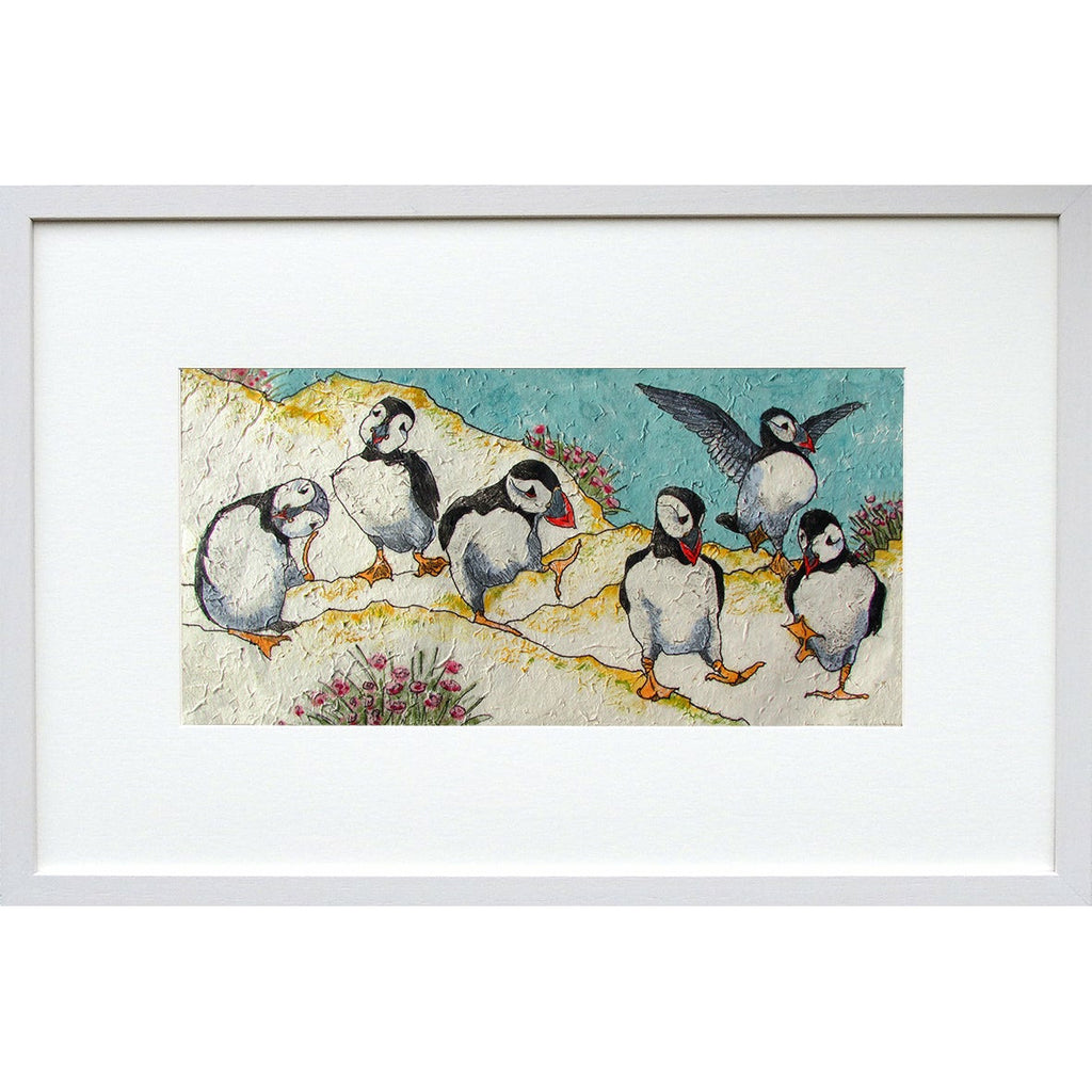'Puffin Circus' Limited Edition Print