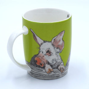 'Piggy in the Middle' Mug