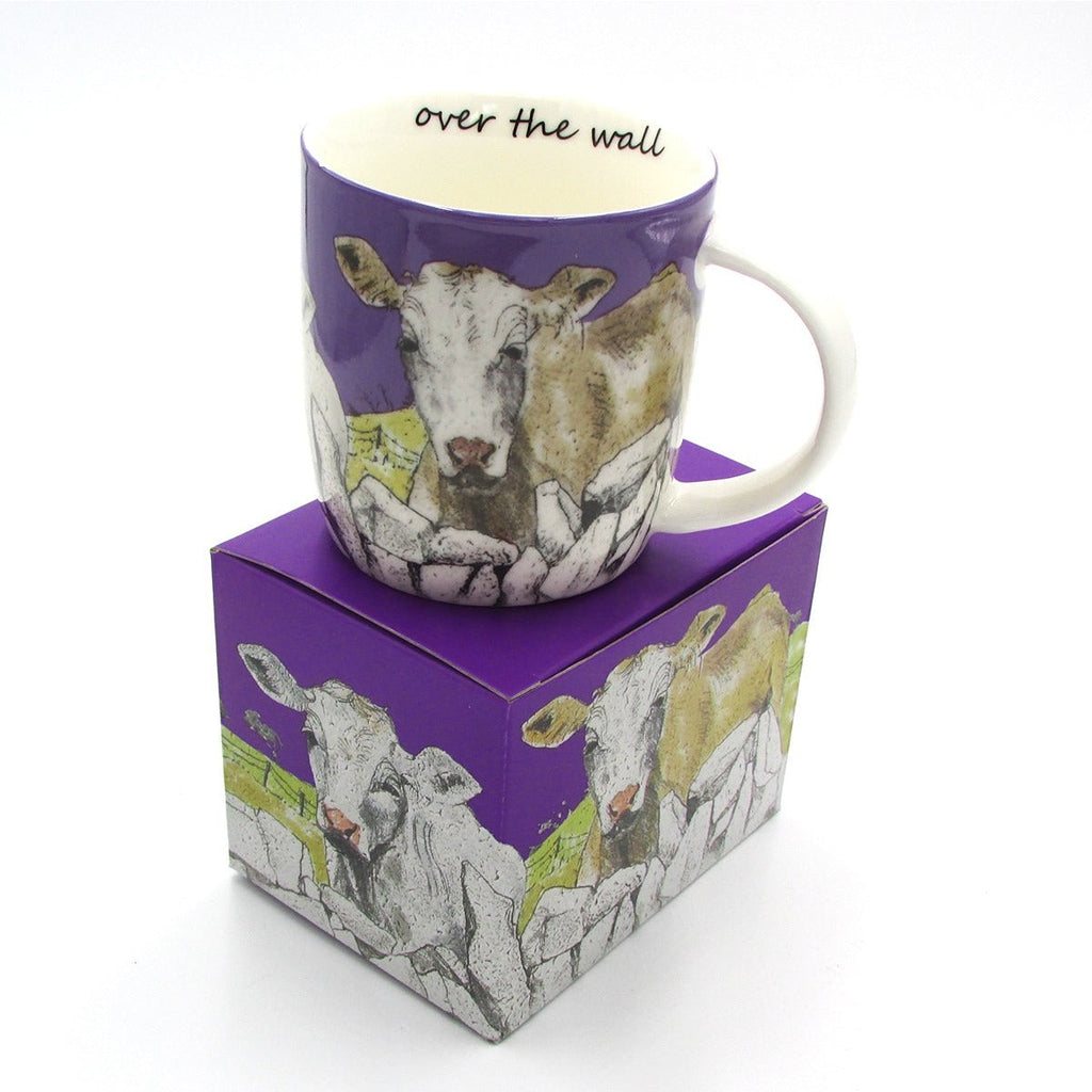 'Over the Wall' Mug