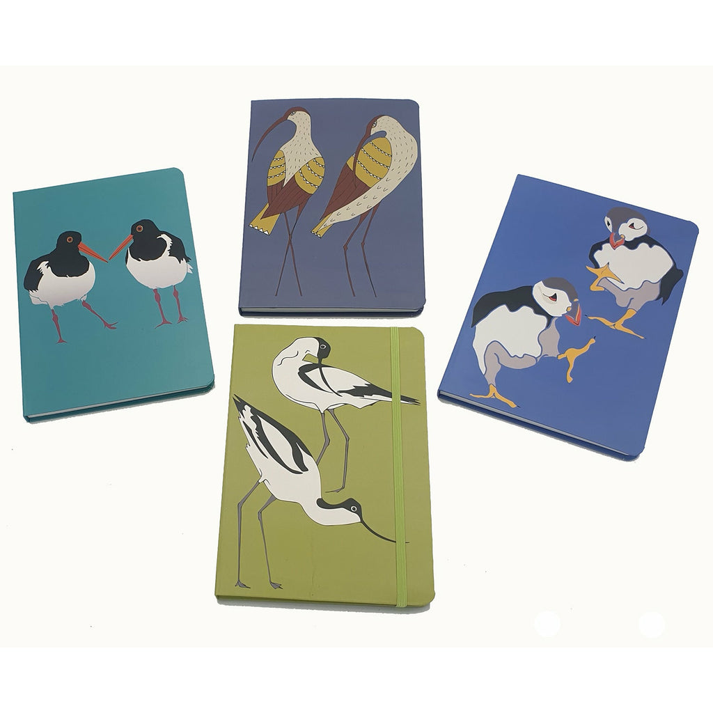 'A set of 4 Contemporary Seabird Notebooks