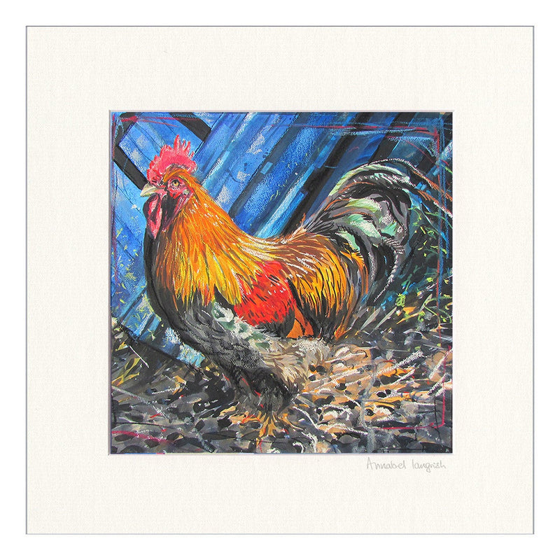 'Rooster' Print