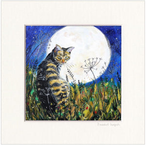 'The Cat and the Moon'