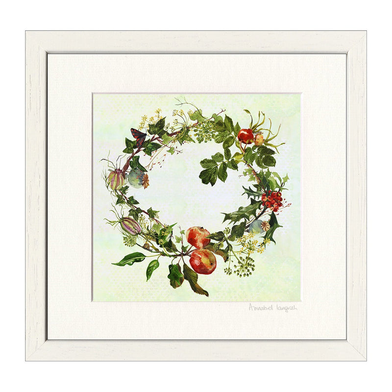 'Winter Wreath' Print
