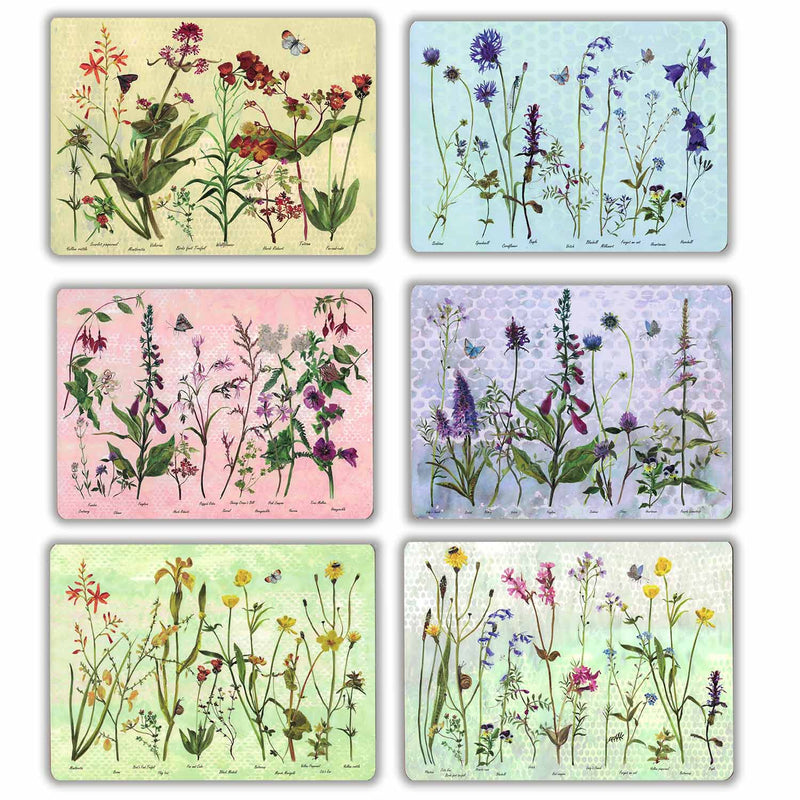 Wildflower 'Placemat' Set of 6