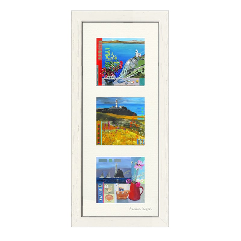 'Lighthouses' 3 Combi Print
