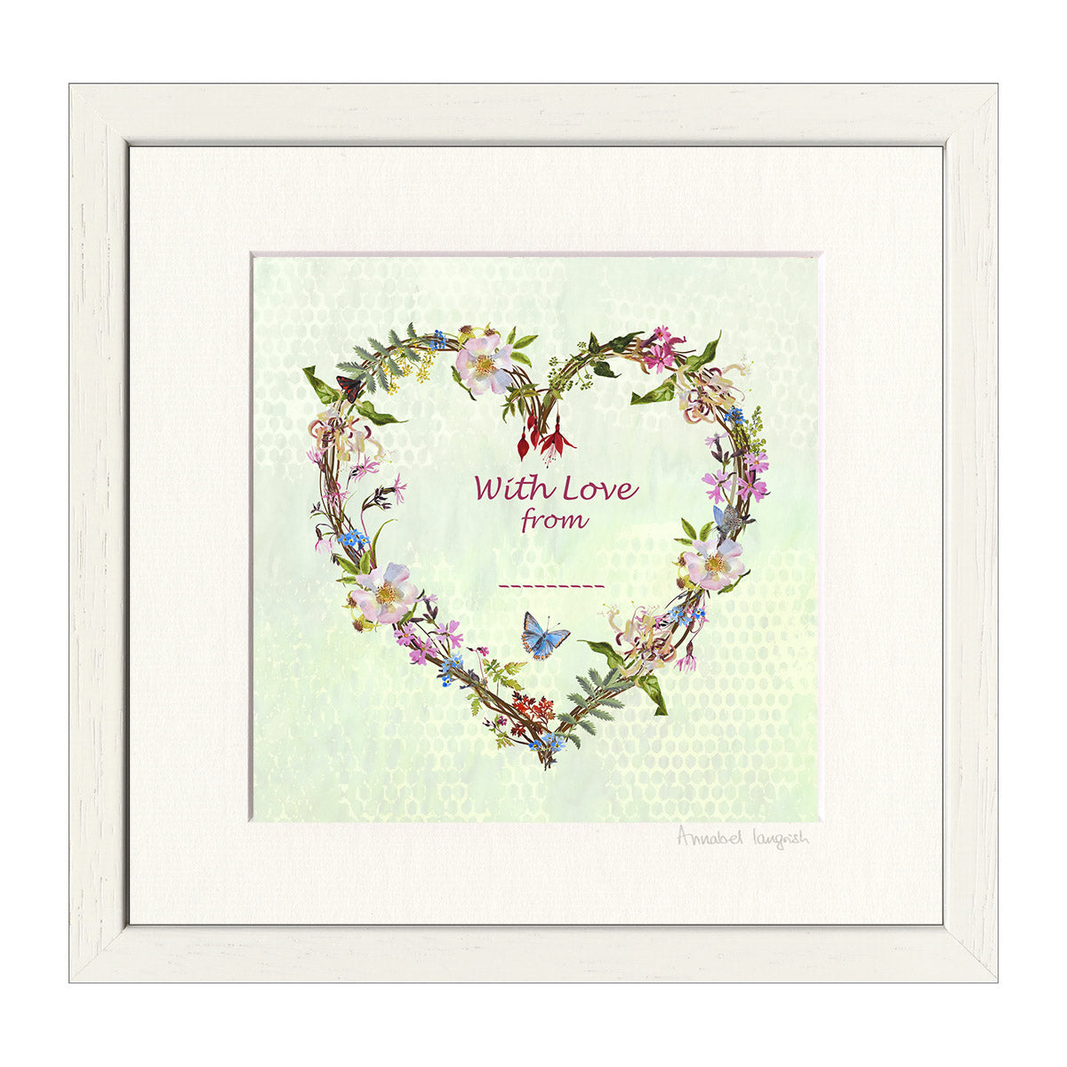 'Wildflower Heart' Print