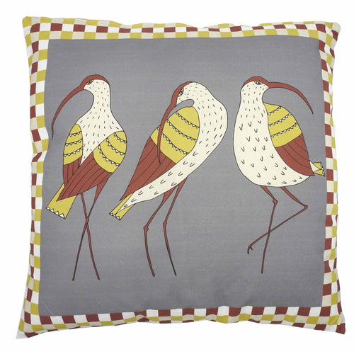 'Curlews' Cushion