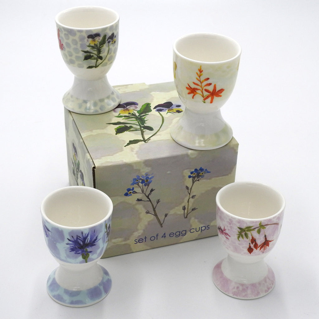 Wildflower 'Egg Cup'  Set of 4