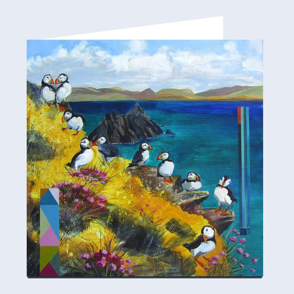 'On the Skelligs' Greeting Card