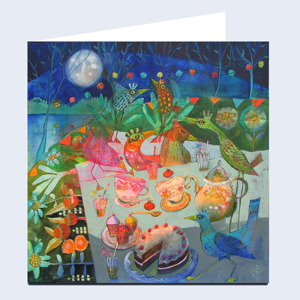 'Garden Party' Greeting Card