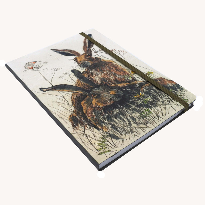 'Two Hares' Notebook