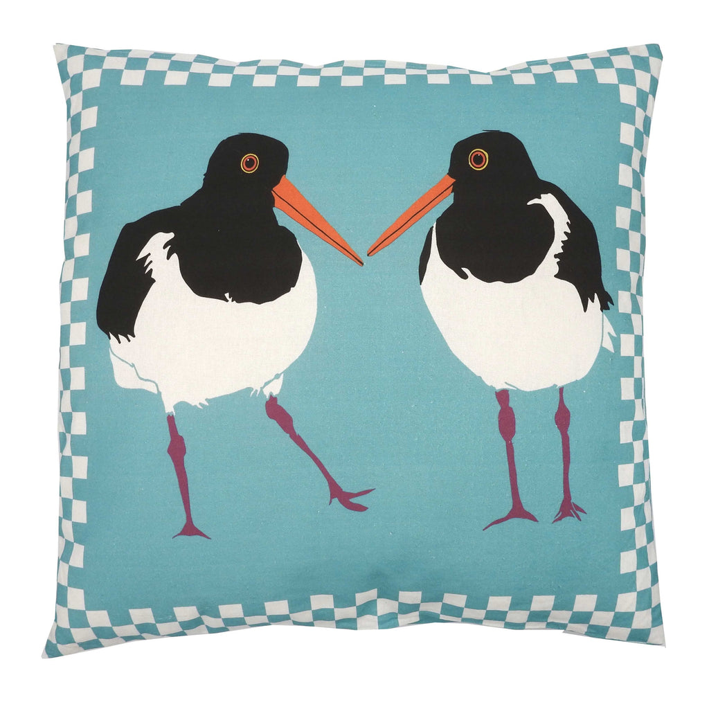 'Oystercatchers' Cushion