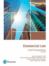 Commercial Law: Fresh Perspectives by Pillay, K et al