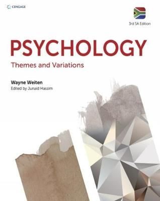 Psychology: Themes & Variations by Weiten, W