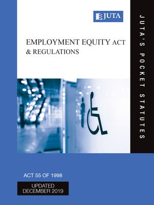 Juta's Pocket Statutes: Employment Equity Act & Regulations