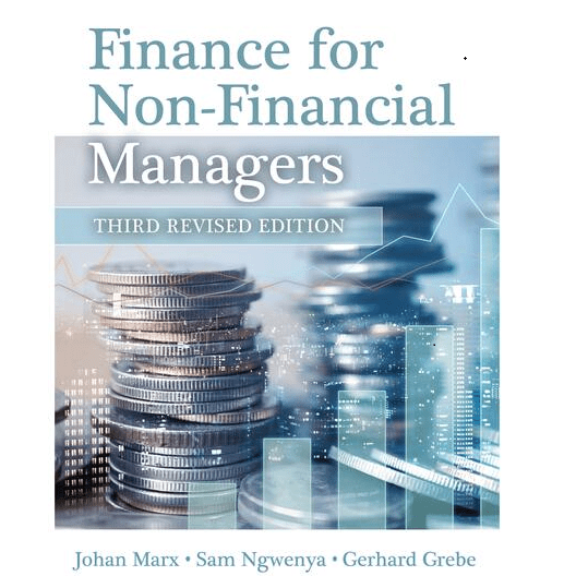 Finance for Non-Financial Managers by Marx, J et al