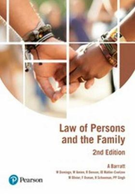 Law of Persons & the Family by Domingo et al
