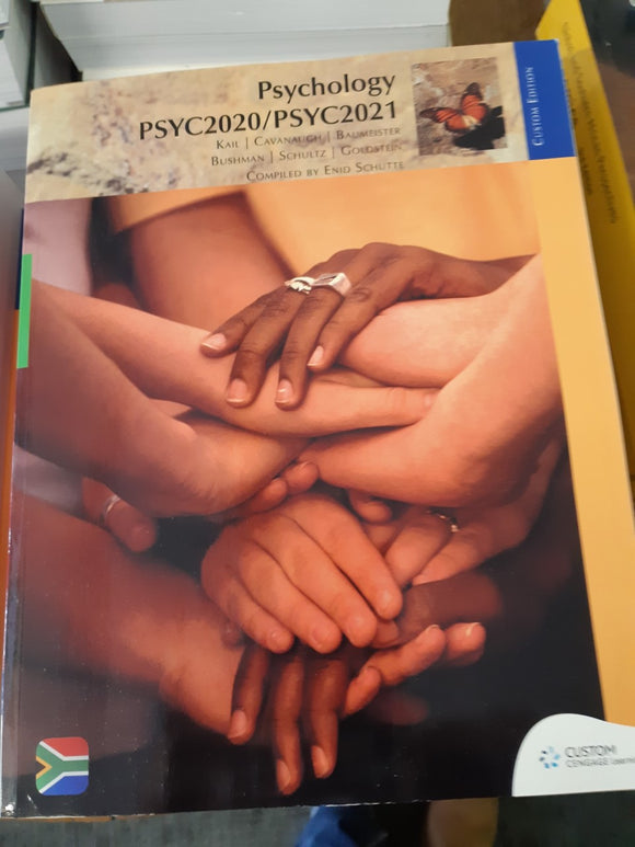 Psychology PSYC2020/PSYC2021 Custom Edition by Schutte, E (ed) et al