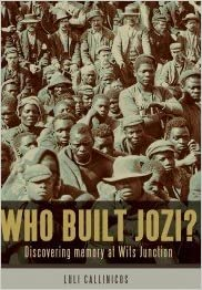 Who Built Jozi? Discovering memory at Wits Junction. Paperback – January 1, 2012 by Luli Callinicos (Author)