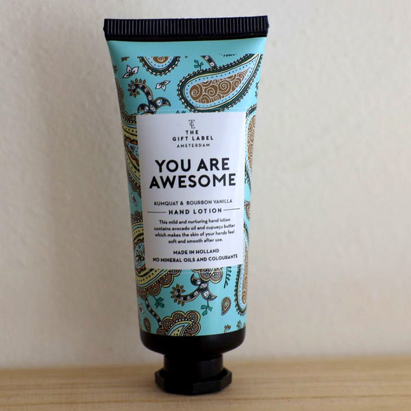 Jetzt im Löffelhase erhältlich: THE GIFT LABEL Handcreme «you are awesome»