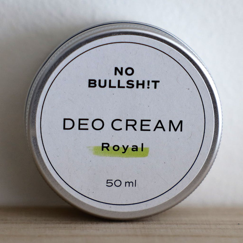 NO BULLSH!T Deo Cream «royal»