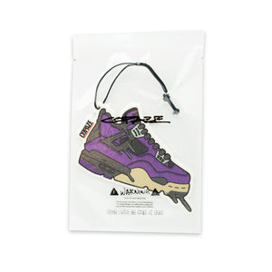 "AJ4 ""Travis Scott Purple"" AIR FRESHENER"