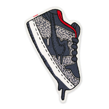 "Load image into Gallery viewer, Dunk Low ""Black Cement"" Rug"