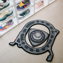 "Load image into Gallery viewer, ""ROTARY ENGINE"" RUG"