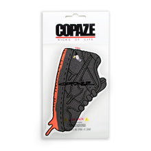 "Load image into Gallery viewer, Copaze x StaplePigeon | Kicks of Life Rug ""Pigeon Black"""