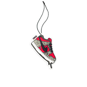 "Dunk Low ""Red Cement"" AIR FRESHENER"