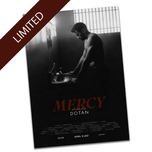 'Mercy' Limited Edition Signed A2 Movie Poster