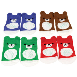 "Babysocken ""Bruno the Bear"", 4 Paar"