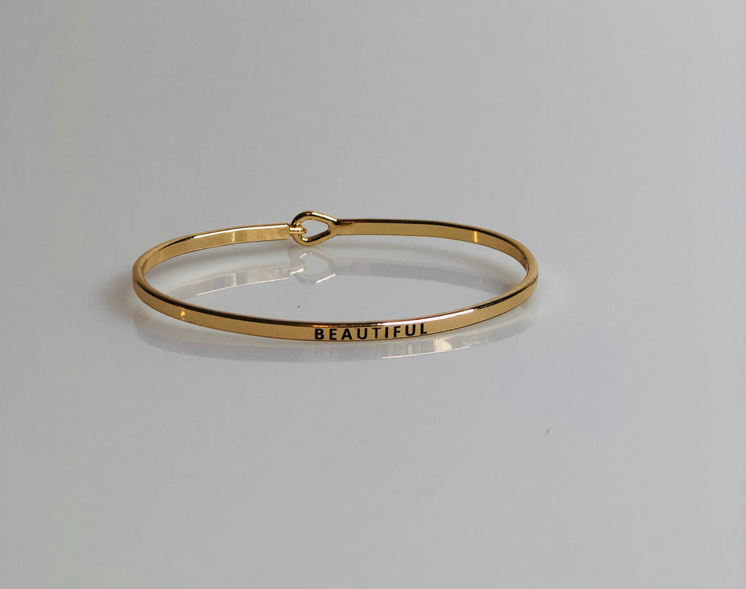 Gold, Beautiful, Bracelet