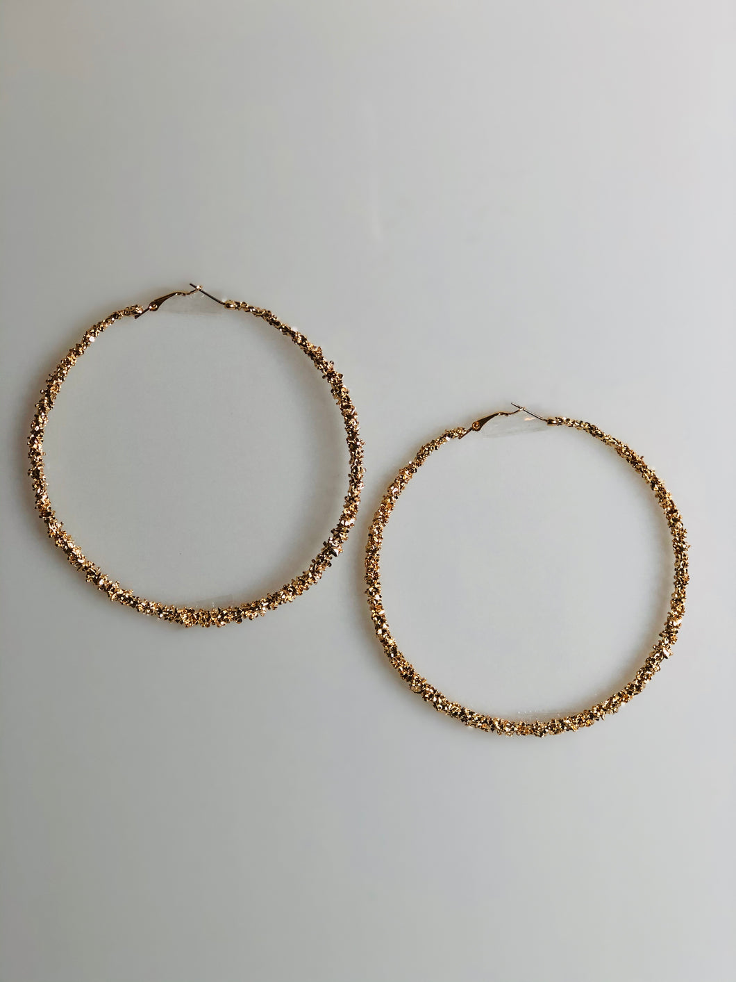 Gold Hoops, Earrings