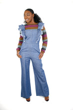 Load image into Gallery viewer, Denim Jumpsuit, Jean Jumpsuit