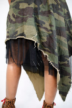 Load image into Gallery viewer, Army Love Skirt