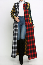 Load image into Gallery viewer, Taryn Plaid Duster