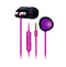 MA200 In-Ear, Black/Purple
