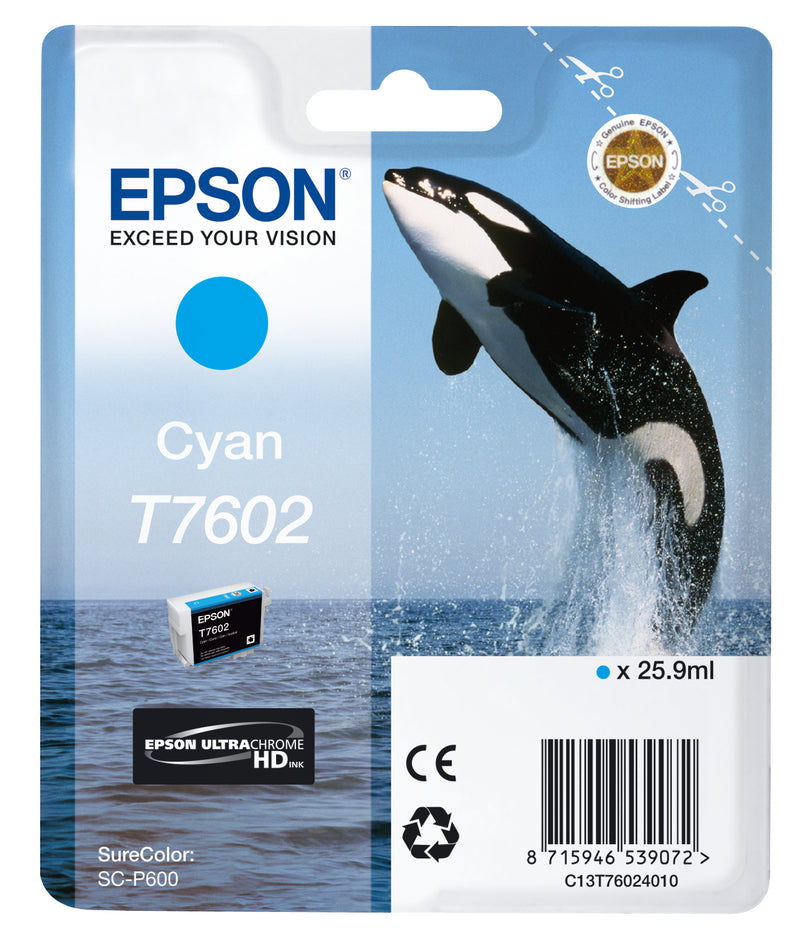 T76024010 Cyan Ink Cartridge