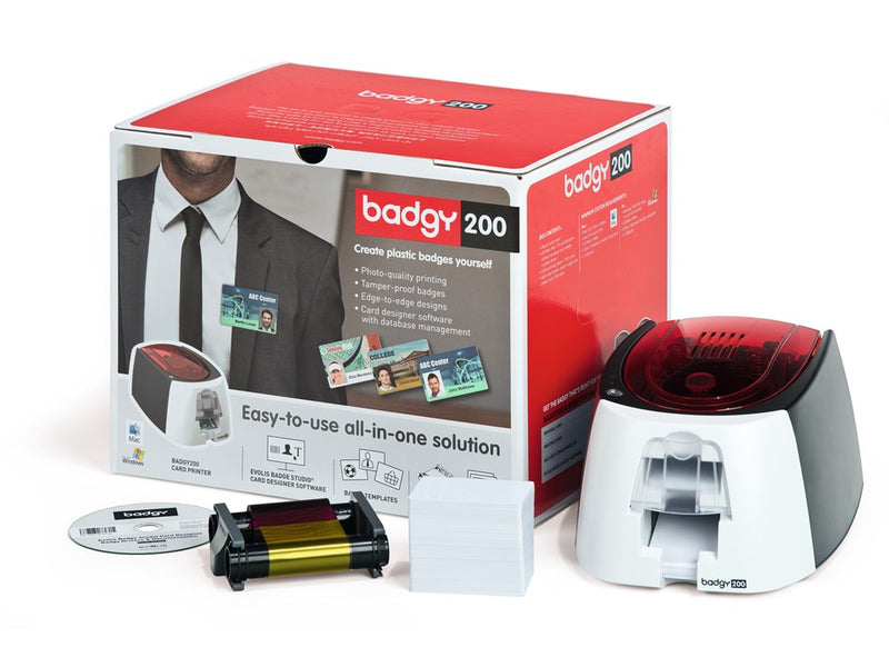 Badgy 200 plastic card printer