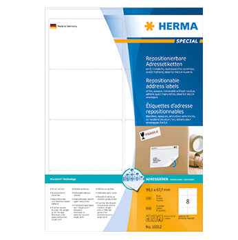 Herma Etiketter Movables  99,1x67,7 (100)
