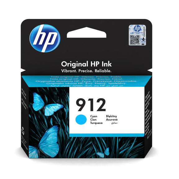 HP 912 Cyan Ink Cartridge