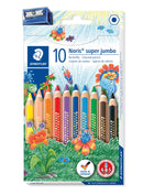 STAEDTLER Fargeblyanter Noris Club Super Jumbo trekant ass (