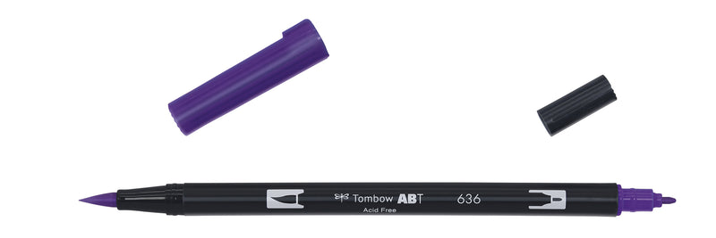 Tombow ABT Dual Brush 636 keiserlilla