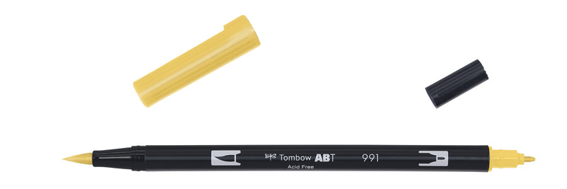 Tombow ABT Dual Brush 991 lys oker