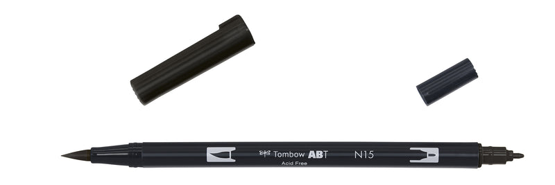 Tombow ABT Dual Brush N15 sort