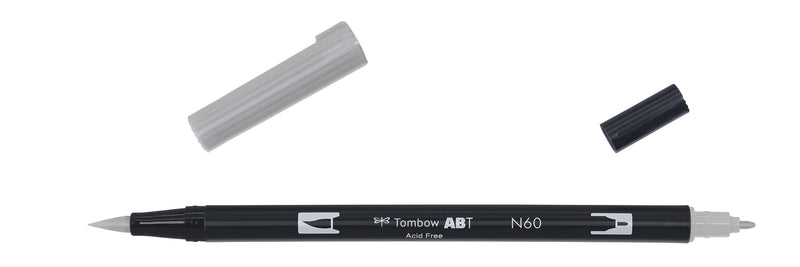 Tombow ABT Dual Brush N60 kald grå 6