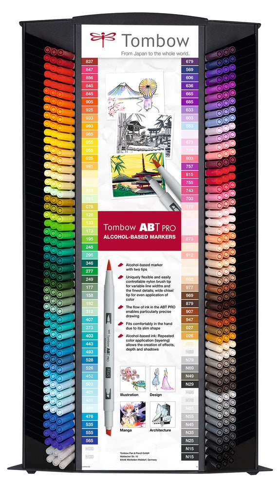 Marker alcohol ABT PRO display + half contents (300)