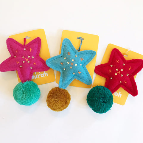 Star Decoration [Assorted Colors]