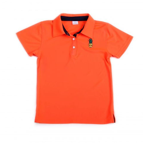 Cameron Polo in Orange